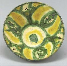 Nishapur Tang splashed bowl, Iran, 10th century