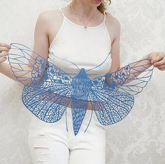 Big Paper Cut Butterfly Art Papercutting