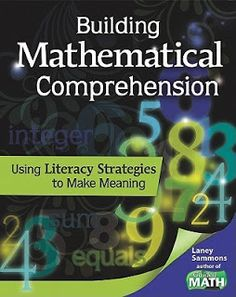 Building Mathematical Comprehension is featured in a summer book study challenge to get your math on!