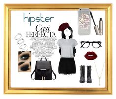 """""""hipster talk"""" by mimiinc on Polyvore featuring Whiteley, Accessorize, River Island, RE/DONE, Ilia and EF Collection"""