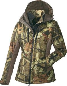 Cabela's: Cabela's Women's OutfitHer™ 4-in-1 Parka- Mossy Oak- Break Up Infinity. Size Medium