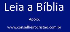 Leia a Biblia - Conselheiro Cristão