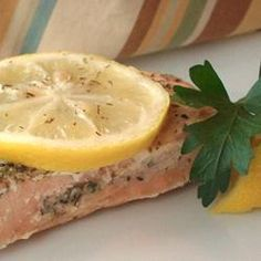Garlic Salmon Recipe. Too easy to not do.