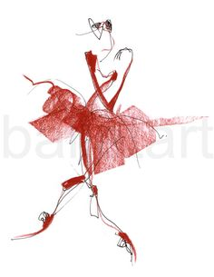 From Carmen's pointe of view  ballet art drawing  by BalletArt, $24.00