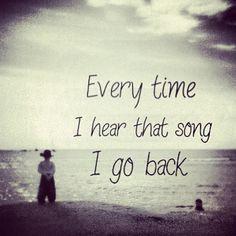 I go back- Kenny Chesney