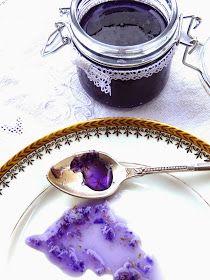 Les receptes que m'agraden: Mermelada de violetas - Melmelada de violetes