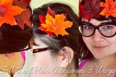 Fall DIY Hair Accessories