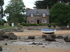Tregastel, Baie St Anne, Bretagne /France.