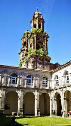 #Albergue de #peregrinos de Sobrado, #Monasterio dos Monxes. #CaminodelNorte