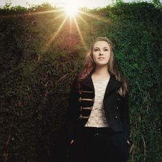 Let the sun shine down brightly on you. | 47 Brilliant Tips To Getting An Amazing Senior Portrait