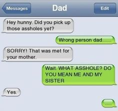 Funny Text Messages - That was meant for your mother