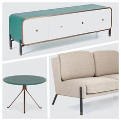 The beautiful Blink Furniture Collection by Yabupushelberg. Click on the image to see more beautiful mid-century modern furniture.