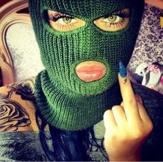 Just for you ! Chicano Tattoos, Girl Tattoos, Gangsta Tattoos, Thug Girl, Sergio Tacchini, Gangster Girl, Disney Vacation Planning, Mask Girl, Gangsters
