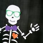 Pin a Bowtie on the Skeleton Game
