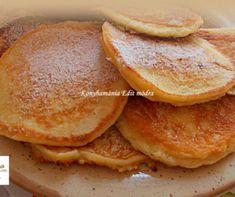 Almás-fahéjas amerikai palacsinta Recept képpel - Mindmegette.hu - Receptek Beignets, Cake Recipes, Pancakes, French Toast, Muffin, Food And Drink, Sweets, Bread, Cookies