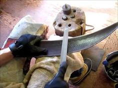 Note: While file is used effectively in this video, it is used inappropriately; This video demonstrates a simple edge repair. Old Farm, Farm Gardens, Raised Beds, Metal Working, Garden Tools, Permaculture, Homesteading, Blade