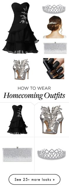 """Prom Queen"" by rwagner5661 on Polyvore featuring Giuseppe Zanotti, Bling Jewelry, Jimmy Choo and Jon Richard"