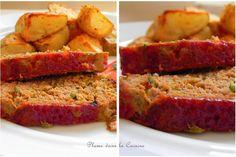 pain de viande curry