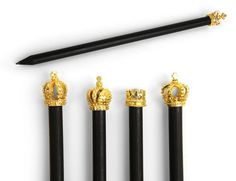 Royal Golden Crown Pencils - Yes!! (Great Stocking Stuffer!)