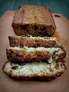 Yes to Yummy (Loaded Zucchini Bread (gluten-free, dairy-free, paleo))