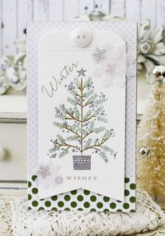 Winter Wishes Card by Melissa Phillips for Papertrey Ink (September 2014)