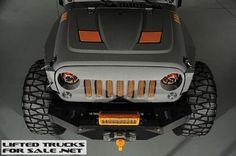 2014 Lifted Jeep Wrangler Unlimited Kevlar Coated SEMA Build
