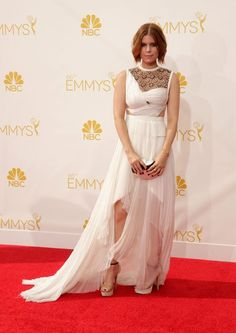 La alfombra roja de los premios #Emmy2014 se llena de glamour
