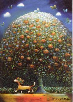 Tree of Life by Raija Nokkala Artistic Tree, Mystic Symbols, Lulu Love, Collections Of Objects, Nature Tree, Naive Art, Funny Art, Tree Art, Tree Of Life