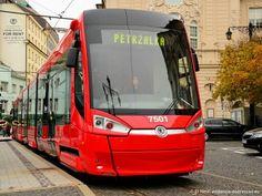 New tram Bratislava, Slovakia