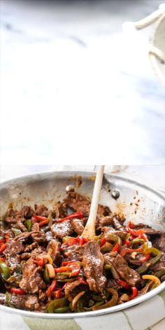 Sizzle Steak Recipes, Steak Stirfry Recipes, Healthy Beef Recipes, Easy Steak Recipes, Beef Recipes For Dinner, Cooking Recipes, Minute Steak Recipes, Pepper Steak Recipe Easy, Pepper Steak Stir Fry