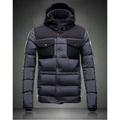 Moncler Men\'s Leblond Jacket Black 2014 Outlet