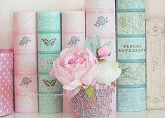 Soft pastel tones