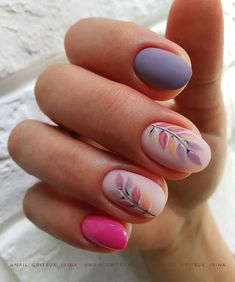 Pin on Nail Designs Shellac Nails, Fingernails Painted, Fancy Nails, Pretty Nails, Cotton Candy Nails, Almond Acrylic Nails, Hot Nails, Birthday Nails, Flower Nails