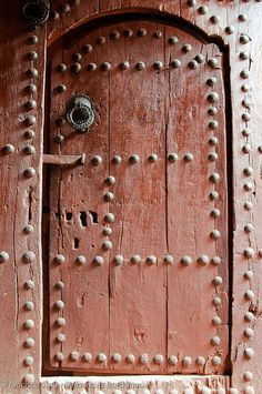 Morocco. old door