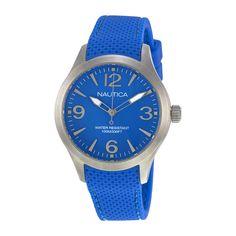 Nautica Blue Dial Blue Resin Ladies Watch A11100M. http://www.watchvendor.ca/nt-a11100m.html
