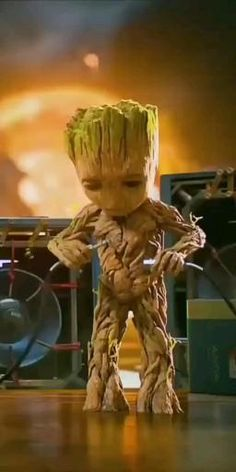 Wanna dance 💥 like Groot