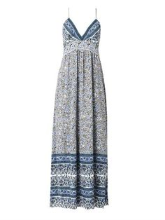 Indian floral-print maxi dress | Rebecca Taylor | MATCHESFASHI...