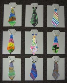 [IMG_1861.JPG] Father's Day art idea...Summer art class