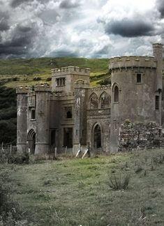 ©Moerlimaus Clifden castle, Ireland