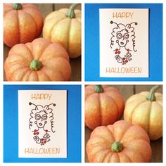 Happy Halloween Greeting Card! $2.50 Each.  www.etsy.com/shop/NellieKateDesigns