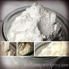 Vanilla and Almond Body Butter with Shea and Cocoa Butter Recipe. Love, love, love!!!