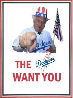 Tommy Lasorda and The Dodgers want you