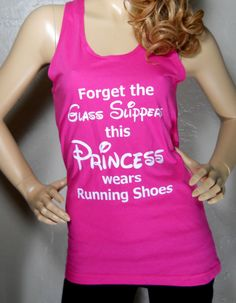 Forget the Glass Slipper this Princess wears Running by RaceJunkie @Leslie Ary