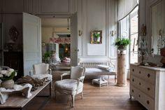 i love the serenity of swedish interiors