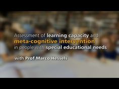 Learning capacity and metacognitive intervention
