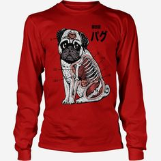 #Pug Anatomy, Order HERE ==> https://www.sunfrog.com/Funny/126949338-770322452.html?89701, Please tag & share with your friends who would love it, #superbowl #renegadelife #jeepsafari