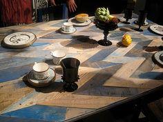 scrap wood table
