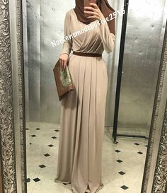 Tap the link now to see our super collection of accessories made just for you! Arab Fashion, Islamic Fashion, Muslim Fashion, Modest Fashion, Fashion Dresses, Young Fashion, Hijab Dress Party, Hijab Outfit, Modest Outfits