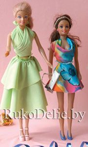 several free Barbie clothes patterns