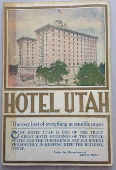 Early 1900s Utah the Tourist Guide Bureau of by BigMamasBasement